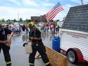 Fire Muster 07 bucket brigade