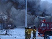 Trailer Fire Scene Size up