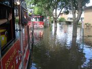 Apartment fire flood Sept 2008