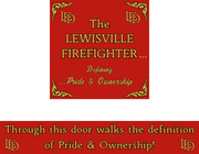 The Lewisville Firefighter...