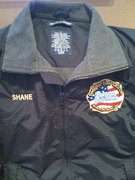 My newest jacket... Thanks Chief G!
