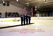 First PFD honor guard presentation