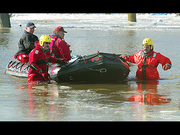 Rock River flood rescue 3/08