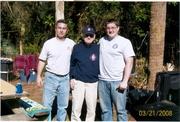 Chief Kline, Chief Sobol, and Dusty