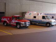 Fridley Rescue 4 and Allina Ambulance