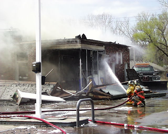 North Side 4 - Gas Station Fire