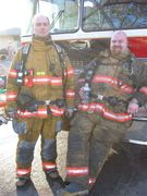 My brother and Dave Larson (LT 2)
