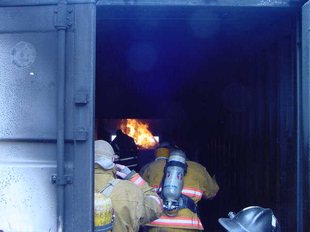 Fire behavior for Investigators class