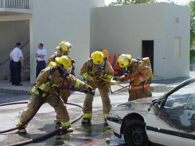 Fire behavior for Investigators class