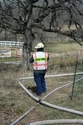 Clayton-Winchester FD Barn Fire April 18 2009