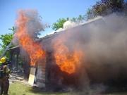 Collinsville Live burn