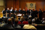Swearing in for City of Midwest City