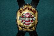 Captain Mike Gagliano's suspender set