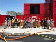 215th Fire Fighters Live Fire Training