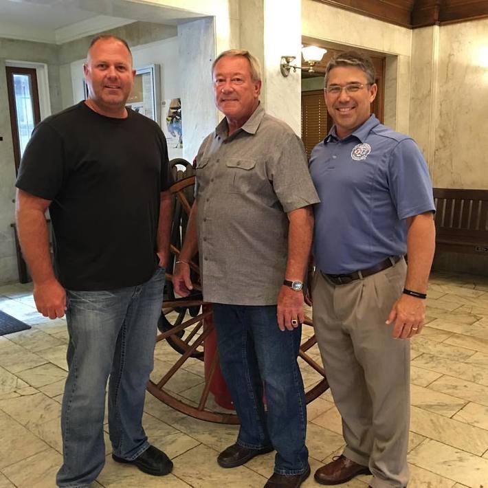 Brian with John & Bill Capretta