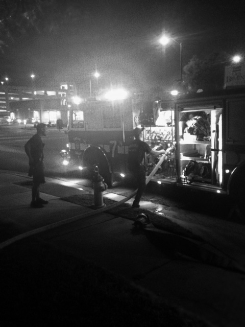 Late night pump operator drill