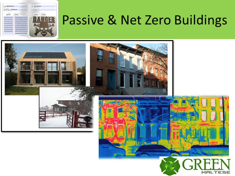 Passive & Net Zero Buildings