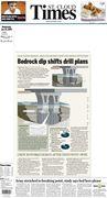 Bedrock dip shifts drill plans
