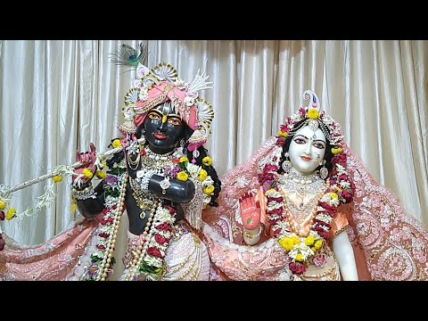 Sringar Darshan || Sri Sri Rukmini Dwarkadhish || ISKCON Amravati || Date 07/March/2019