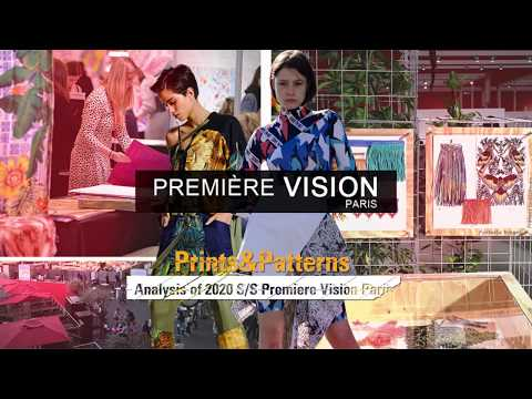 2020 S/S Analysis of  Premiere Vision  | Prints & Patterns | POP Fashion