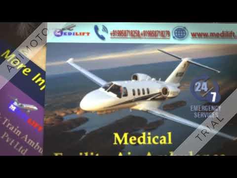Take Emergency Air Ambulance Service in Varanasi