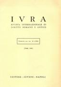 Álvaro D'Ors_reseña en Iura 1985