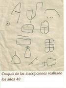 signos grabados en piedra
