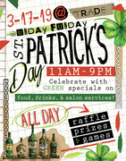 TRADE Food Hall Celebrates St. Patrick's Day