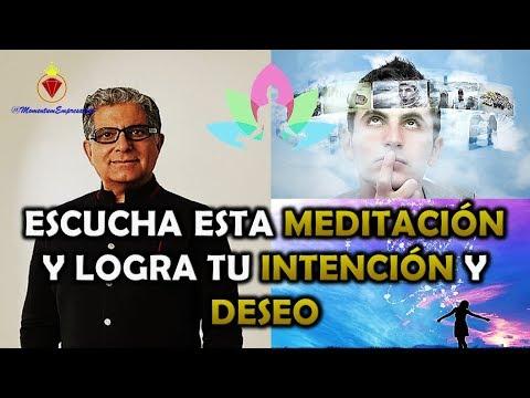 5 - La Ley de la INTENCIÓN y el  DESEO / Deepak Chopra • Meditación • Día 5