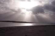 Siletz Bay on a grey day