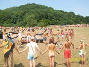 An AUM Circle Rainbow Gathering photo I took in Slovakia in August  2012