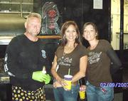 Paul Dorr, Carrie and Me at cook-off