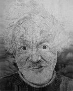 zelfportret potloodpapier 60 X 90 CM 2