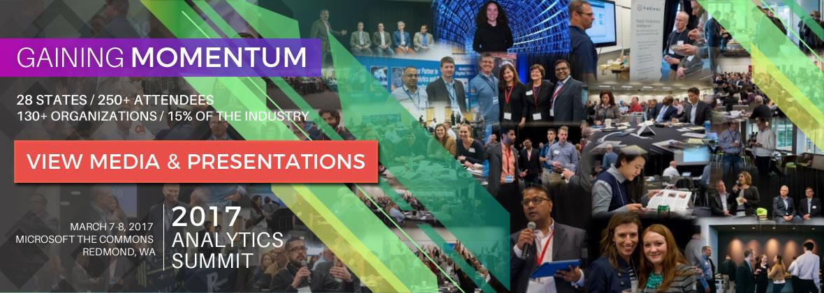 2017 Credit Union Analytics Summit