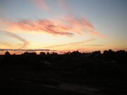 закат над Шокшей