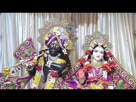 Sringar Darshan || Sri Sri Rukmini Dwarkadhish || ISKCON Amravati || Date 08/March/2019