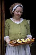 Lisa prepares Scotch eggs