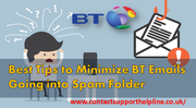 Best Tips to Minimize BT Emails Going into Spam Folder