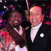 George Clinton and Smokey Robinson