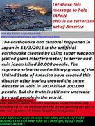 japan suffered, but the story still remain unknown by most people