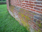 Brickwork on the Lampeter Meetinghouse