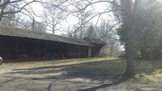 The horse stables