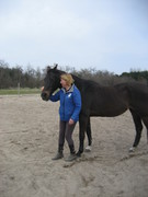 Imelda de Smet-Kessels and her Alpha Horse Kamee 2013