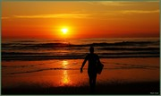 Dawn surf