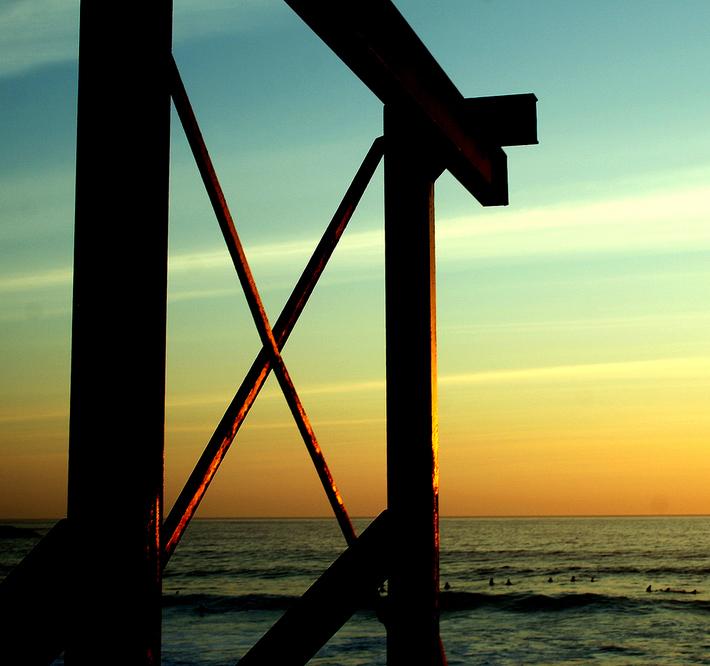 llandudno sunset suf