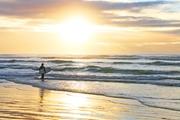 Sunrise Longboarder