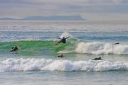 Spray Fan Muizenberg Beach