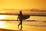 sunrise surfer guy