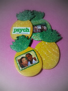 Psych-apple ornaments!
