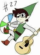 Link all june! #27 LEGEND OF ZELDA LINK! (27/31)